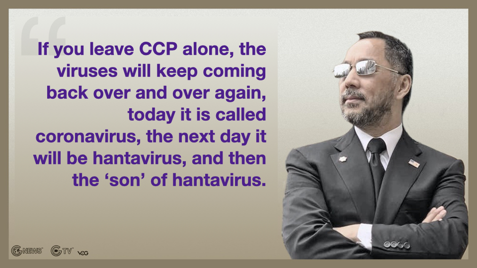 MilesGuo: Investigate whether CCP Intentionally Released Virus