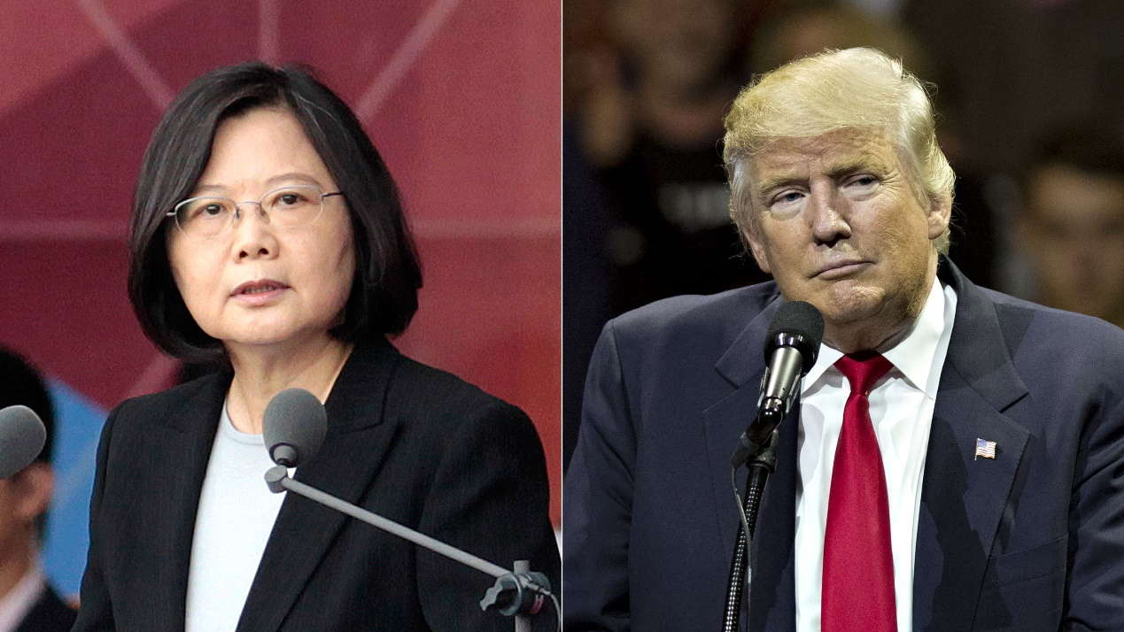Donald Trump Angers China With Call to Taiwan President | Time