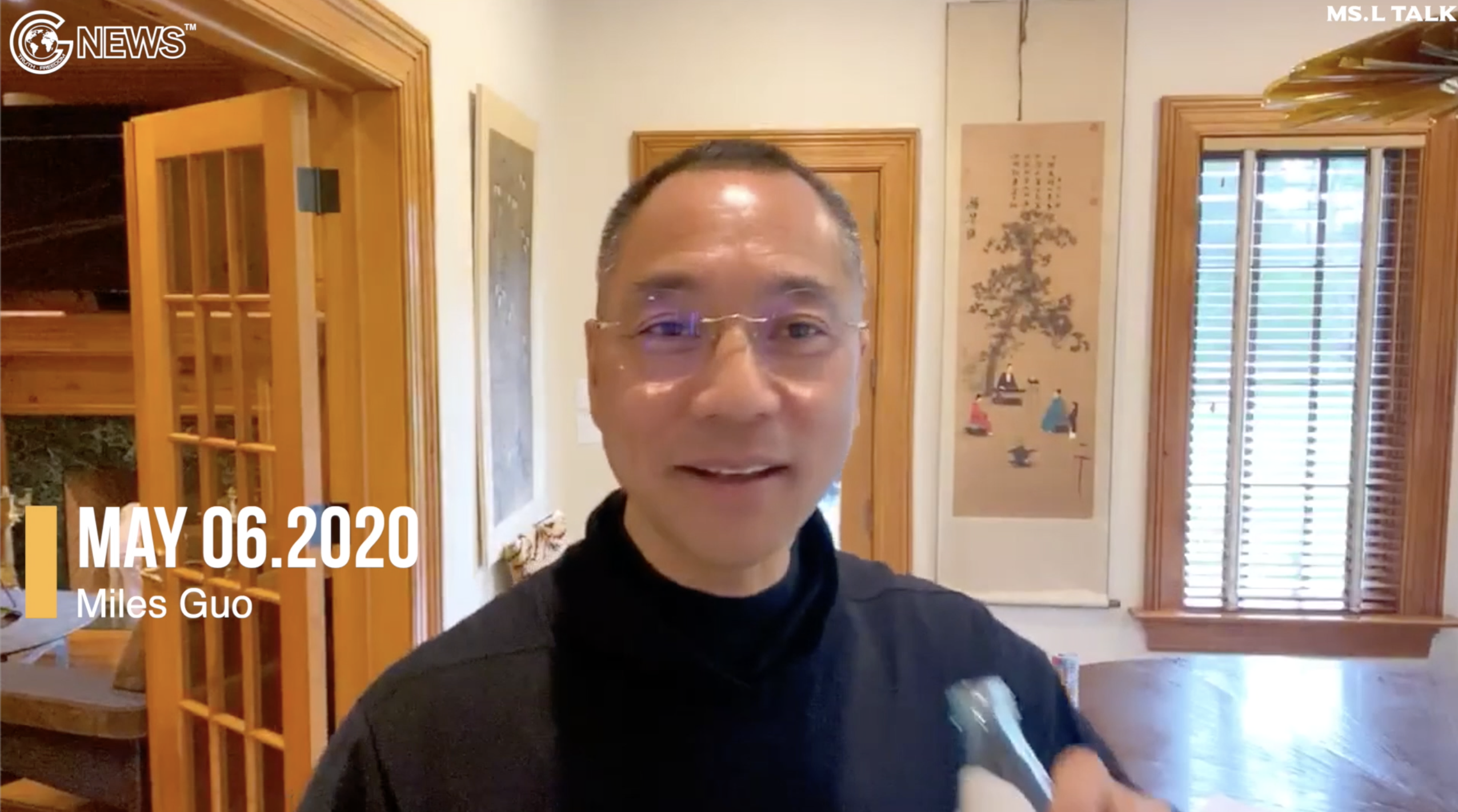 Miles Guo put forward the four cores of destroying the CCP
