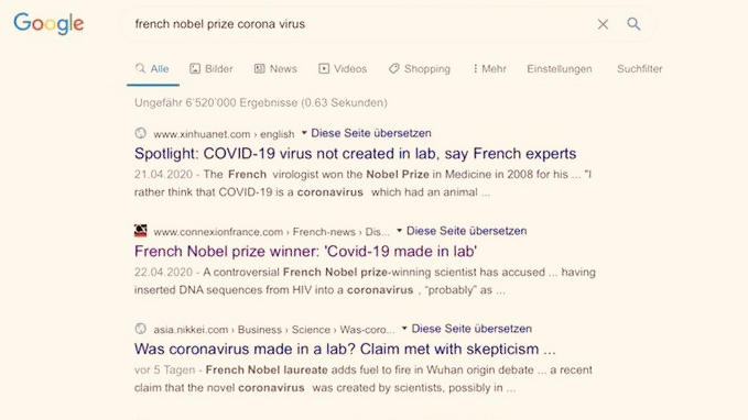 Did the CCP manipulate Google search results to spread their propaganda more effectively?