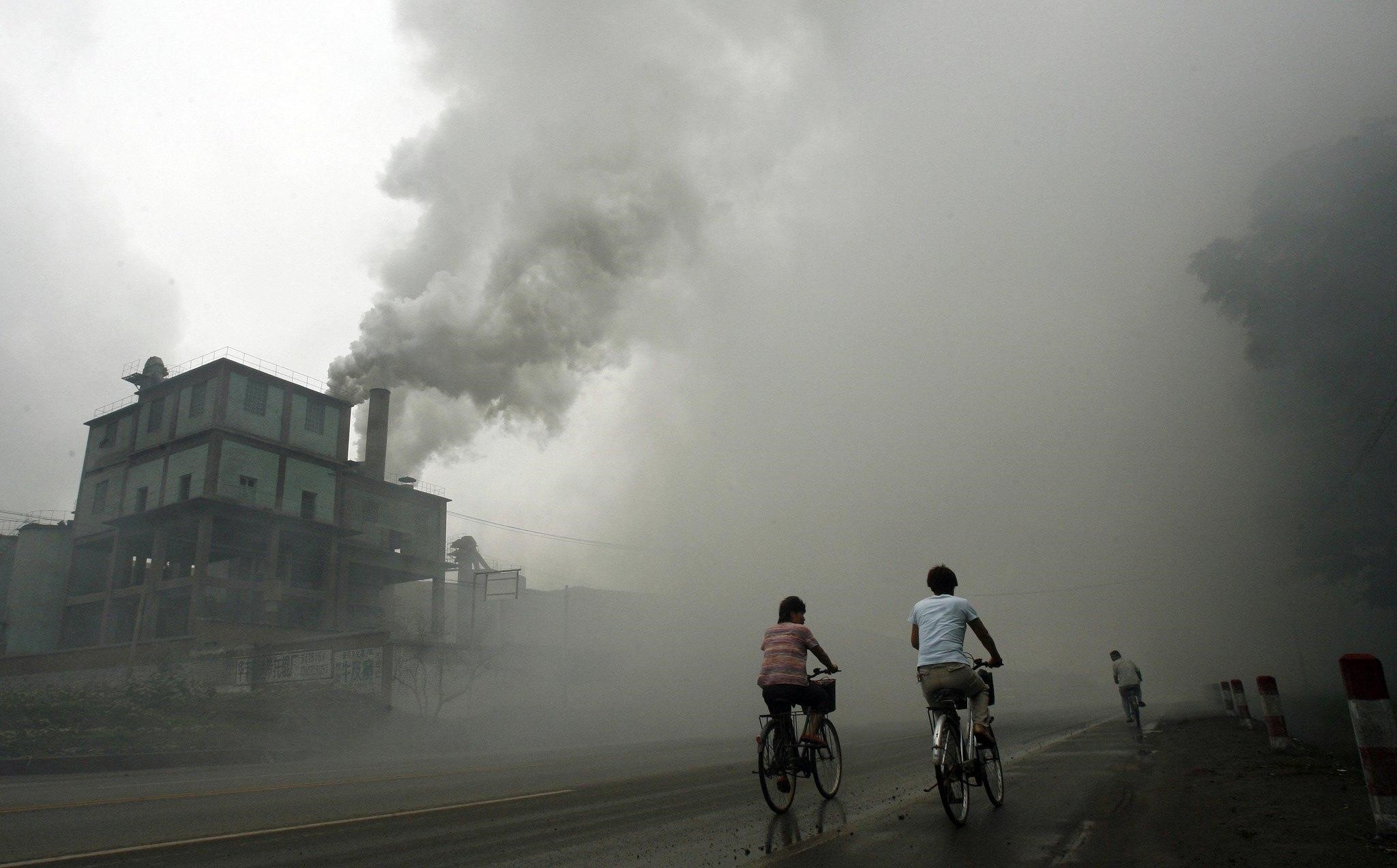 China's industry exporting air pollution to U.S., study says - latimes