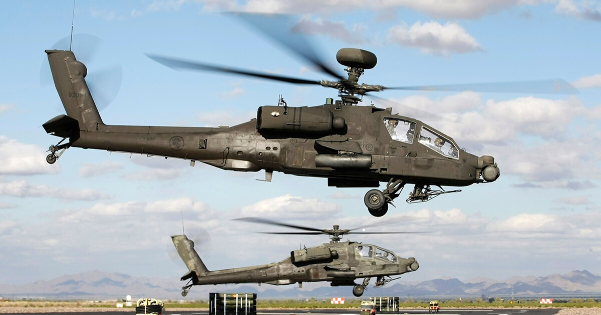 Singapore confirms it's using Apache helicopters in air defense role