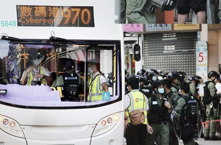 "Bus Driver Charged with Possession of ""Offensive Weapons"" Being Spanner and Screw Driver by HK Police"