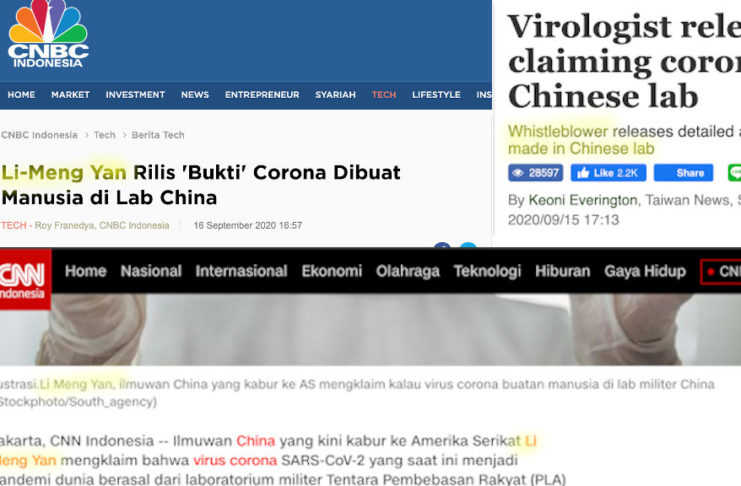 CNBC Indonesia & CNN Indonesia Report on Dr. Li-Meng Yan's COVID-19 Research