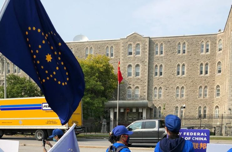 916 Ottawa–Himalaya Manor and Farm Canada Take Down the Chinese Communist Party Demonstration Part3
