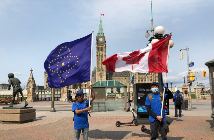 916 Ottawa – Himalaya Manor and Farm Canada Take Down the CCP Demonstration – March