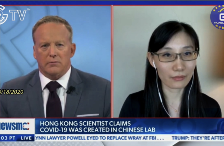 9/18 Newsmax Sean Spicer interviewed Dr. Li-Meng Yan in Multiple Languages
