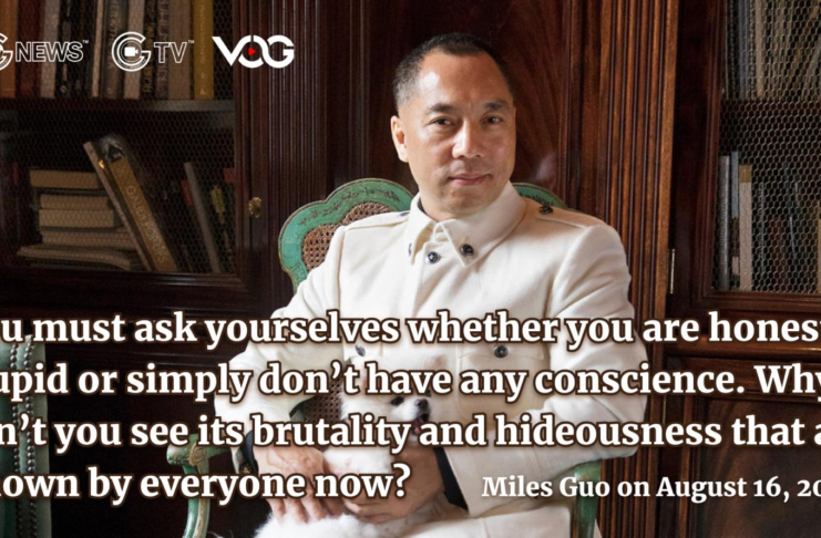 Miles Guo – The U.S. DOJ will not let the blood of the Hong Kong warriors be in vain.