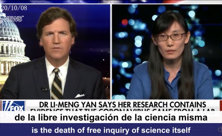 (Spanish+English)CCP virus whistleblower Dr. Yan, her mother was arrested by the CCP