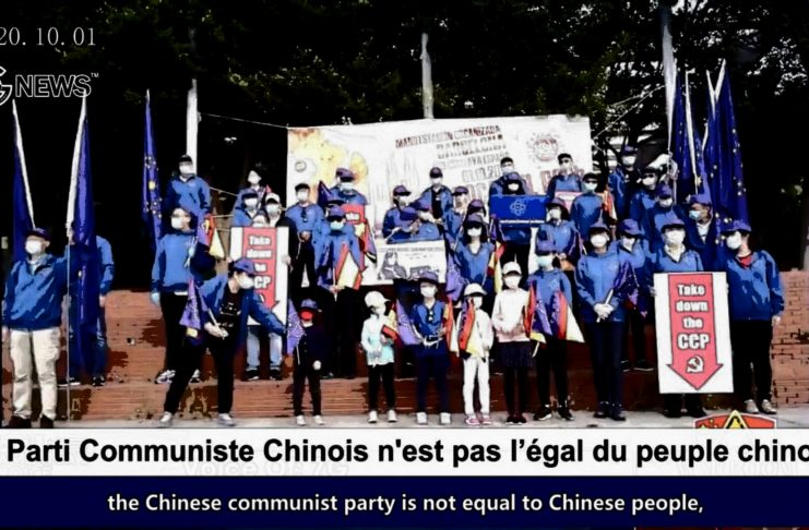(French+English)The CCP is not the equal of the Chinese people