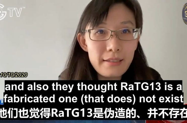 10/10 Dr. Yan: RaTG13 was fabricated & the Chinese Communist Party pushes the nature origin theory to mislead the public