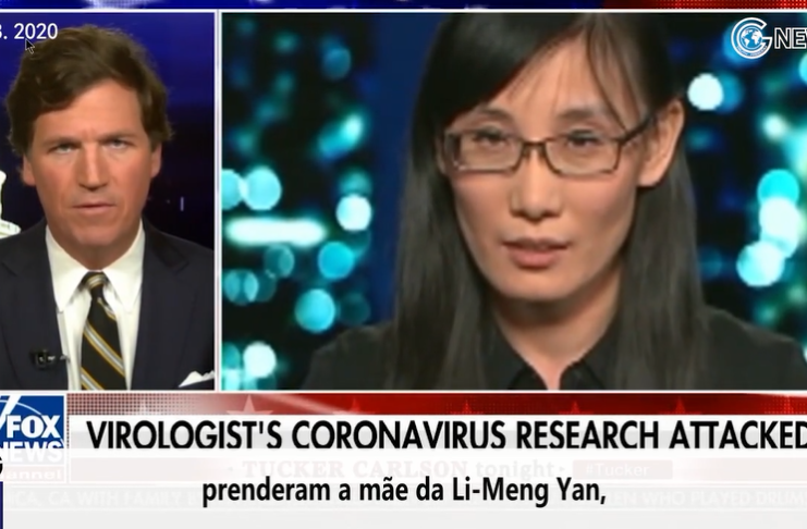 (Portuguese+English)The Chinese Communist Party arrested the mother of Dr. Limeng Yan