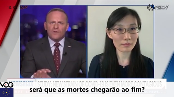 (Portuguese+English)The virus came from the laboratory, the only way to get rid of the virus is to eliminate the CCP's regime