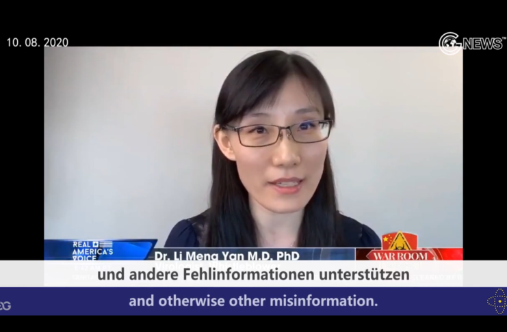 (German+English)Dr. Limeng Yan welcomes open debate about the paper but opposes shameless attacks with lies
