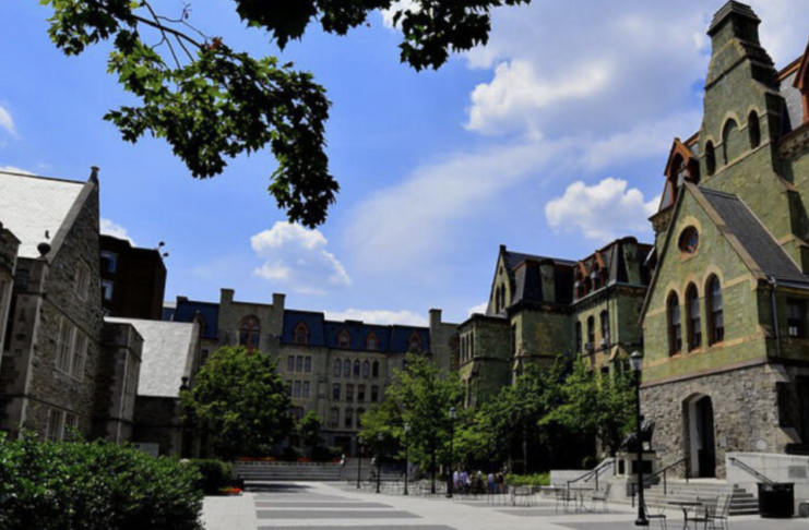 University of Pennsylvania Dyed In Red By The Bloody Money Of Countless Chinese
