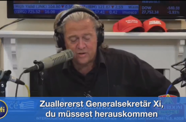 EP370, Everyone wants to divide the Chinese Communist Party from Chinese people (German+English)