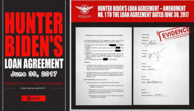 The New China Federal Battle Series (1) The huge loan agreement between Hunter Biden and Bohai Huamei RS (Shanghai) Investment Fund Management Co., Ltd.-Original Exclusive Document:(English video version)