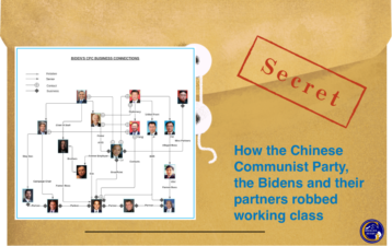 REVEALED: A Glimpse of How the Chinese Communist Party, the Bidens and their partners robbed working class.