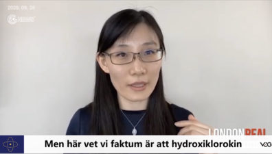 (Swedish+English)Dr. Yan: Hydroxychloroquine got a lot of obstacles in prevention and early treatment of COVID-19