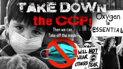 We can't allow the CCP (Chinese Communist Party) to corrupt us