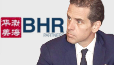 HUNTER BIDEN AND  BHR