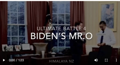 Ultimate Battle 4: Who the hell had watching Mr.O in White House?