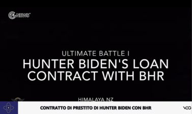 (Italian)The Battle Series (I) of the New Federal State of China The huge loan agreement between Hunter Biden and Bohai Huamei RS (Shanghai)Investment Fund Management Co., Ltd.-Original Exclusive