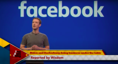 Biden and Zuckerberg doing business for power and profits