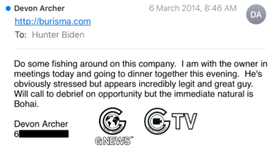 The Third Wave(Email 14 Declassification):3/6/2014 Devon Archer writes to Hunter Biden that he is reaching out to the owner of the Ukrainian gas company Burisma looking for opportunities. But for now the priority remains Bohai.