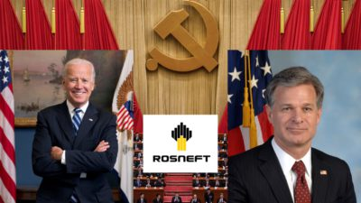 The Bidens and FBI Director Wray: Middlemen of Oil Deals Between Russia and the CCP