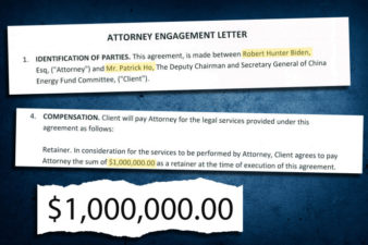Exclusive! Revealed Engagement Letter Proves that Patrick Ho Paid Hunter Biden $1M
