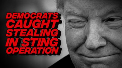 The Sting Operation Will Put The Whole Democrats' Ballot Fraud To An End