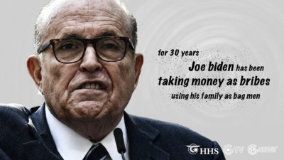 Rudy Giuliani's Exclusive Reaction On the Collusion Between the Bidens and Communist China