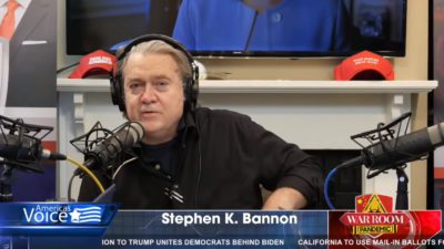 Heads on Pikes: Bannon War Room accounts censored