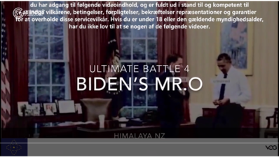 The New Federal State of Chinas Kamp Serie (4): Bidens Hr. O
