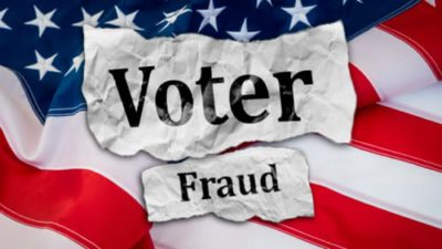 The Fading of Democracy – Voter Fraud in the 2020 Presidential Election