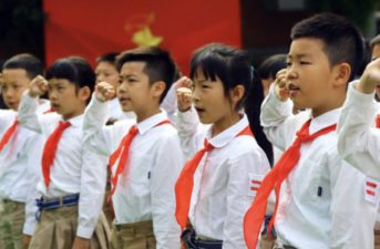 The Hong Kong Government requires primary and secondary school teachers to receive 30 hours of training in national security