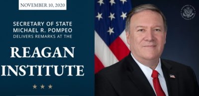 Pompeo: The Reagan Legacy; Promise of America 11/10