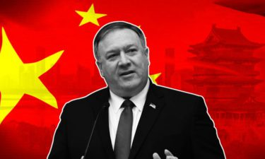 What the Global Times wrote about Pompeo in Chinese