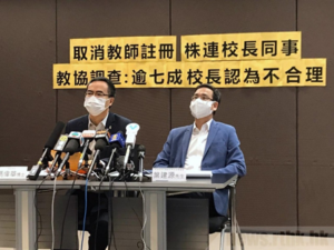The HK Education Bureau Is Considering Teachers' Pay Cuts- Over 70% Of the Principals Interviewed Believe It Is Unreasonable