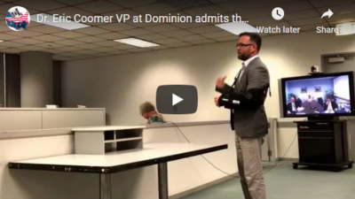 Dominion's VP: Vote-counting systems are manipulable