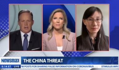 COVID-19 Was Born in a Chinese Lab(1)  ———Chinese Virologist Dr. Li Mengyan Interviewed  On NewsmaxTV (U.S.)