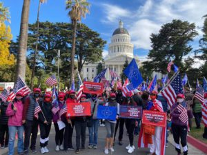 """11.14 The New Federal State of China """"March For Trump"""" Rally"""