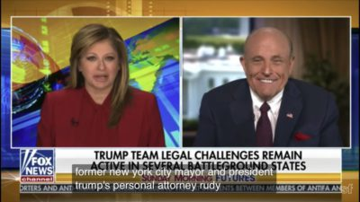 Rudy Giuliani: Dominion Voting System Has Close Ties With China
