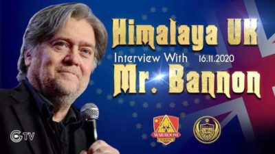 11/16-Mr. Bannon Interviewed by Himalaya UK on US Election