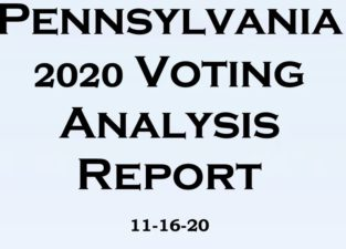 "Pennsylvania Vote is a Statistical ""Black Swan"""