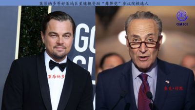 "Leonardo and other Hollywood superstars generously funded Senate candidates for the ""Corrupt Party"""
