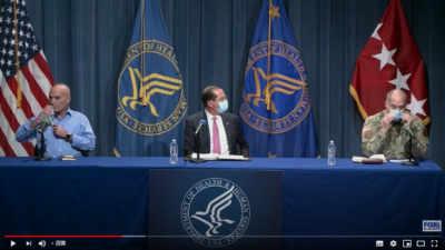 LIVE: Defense Dept, HHS discuss COVID vaccine, distribution to press 11/24