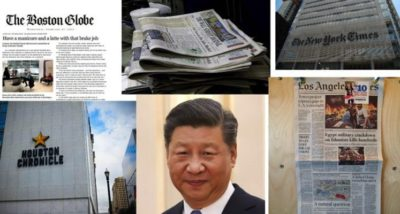 Shocking! It Only Takes a Few Million Dollars to Turn American Newspapers Into CCP Propaganda Machines