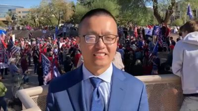 "The CCP is stealing America's election! ""Stop the Steal"" rally in Arizona: live reports from the scene"
